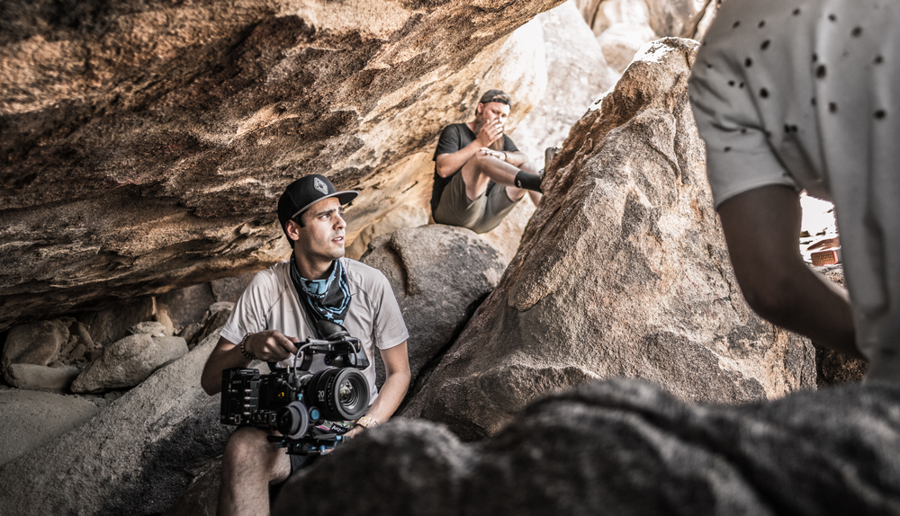 "Edoardo Marino, Director of Photography for Music Video ""Taste the Stars"""