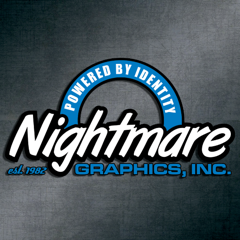 Since 1982, Nightmare Graphics has been a leader in the printing industry, offering custom services such as screen printing, embroidery, dye-sublimation, and promotional products.