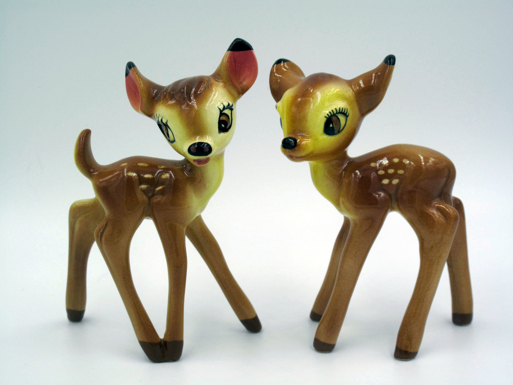 Small Bambi and Faline