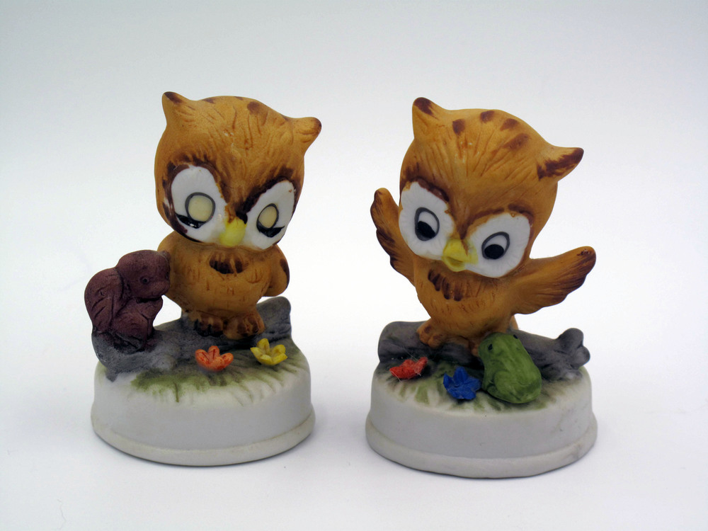 Made in Japan Owls - Very similar to Josef Originals figurine's style.