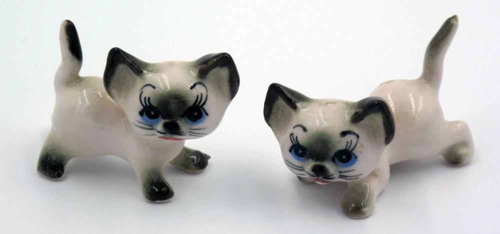 Made in Japan Siamese Cats - Hagen Renaker/Josef Originals Copies?