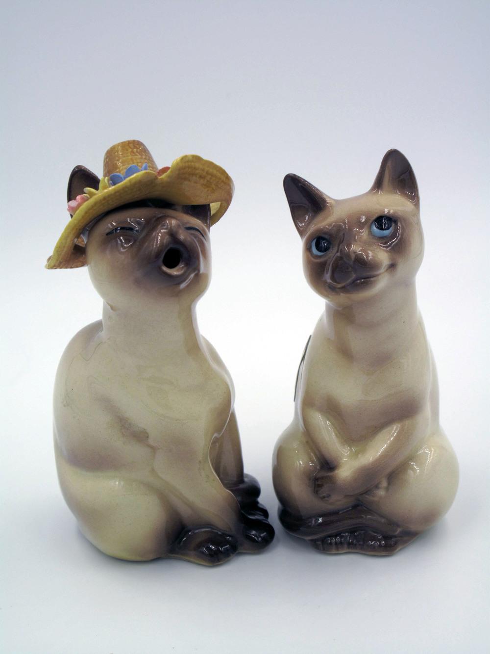 """Calypso Cats """"Tabbie"""" and """"Tom"""""""