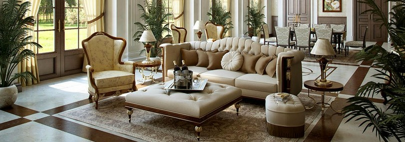 Charmant Modern French Living Room2