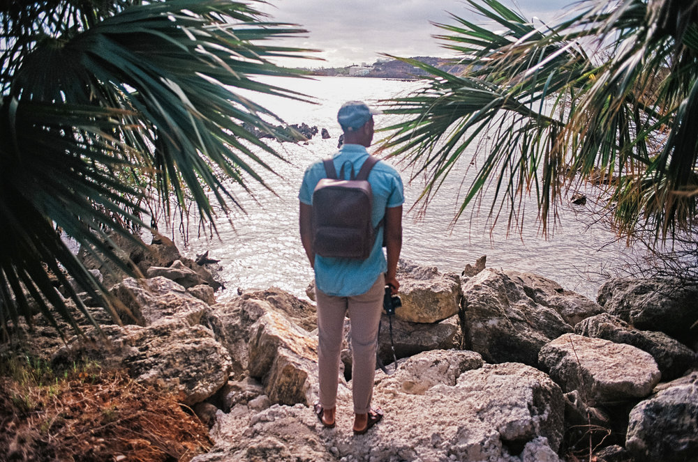 exploring bermuda nisolo leather backpack