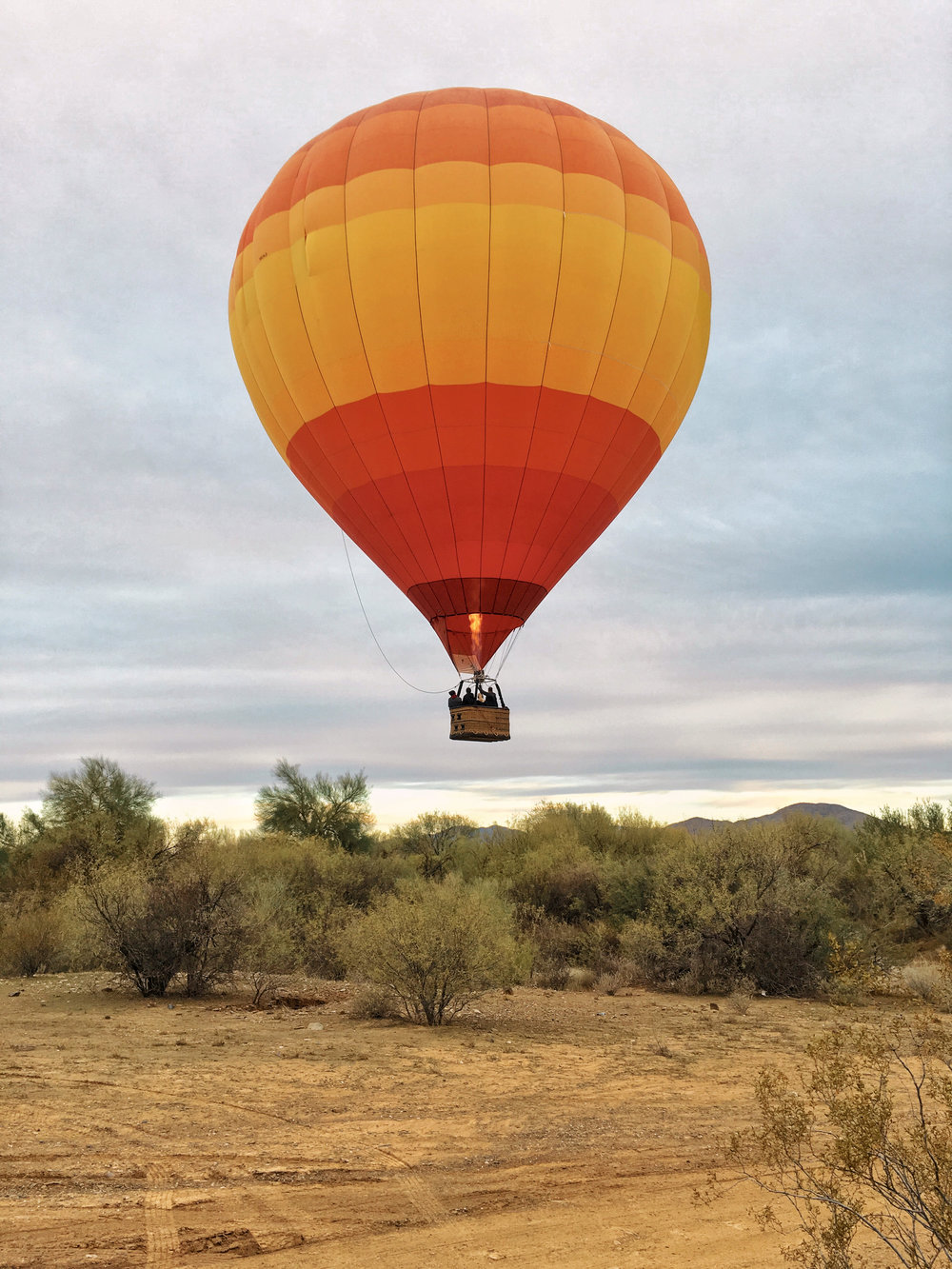 hot air ballon ride phoenix arizona