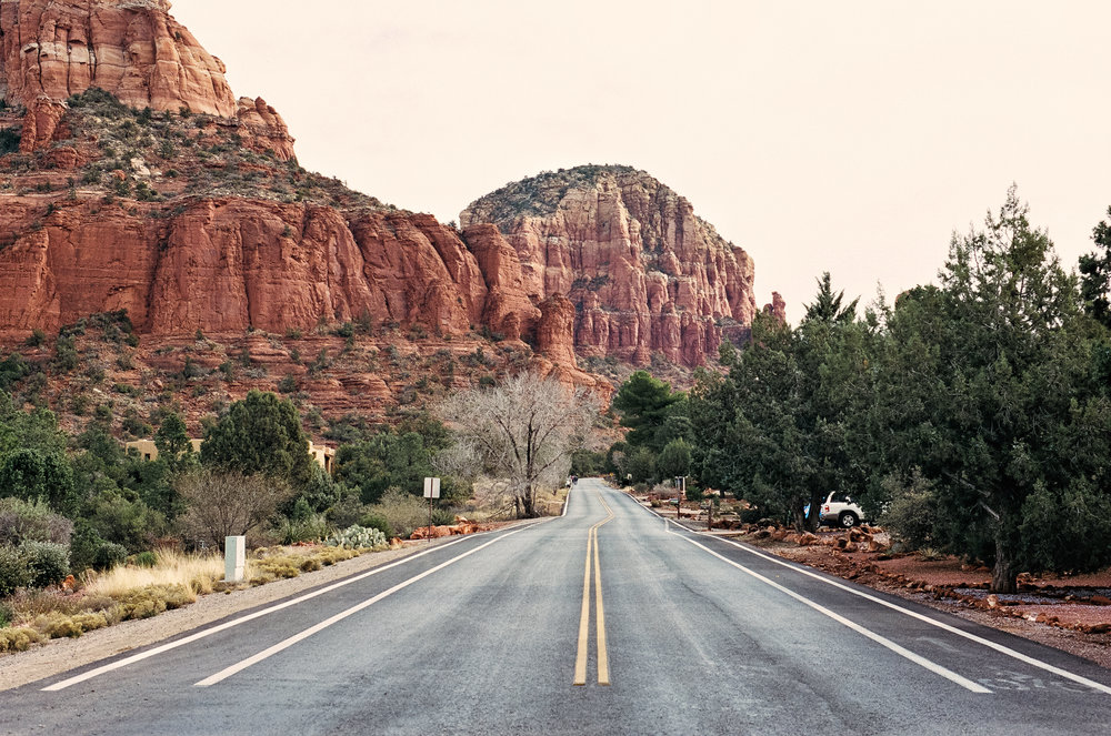 sedona arizona red rock roads