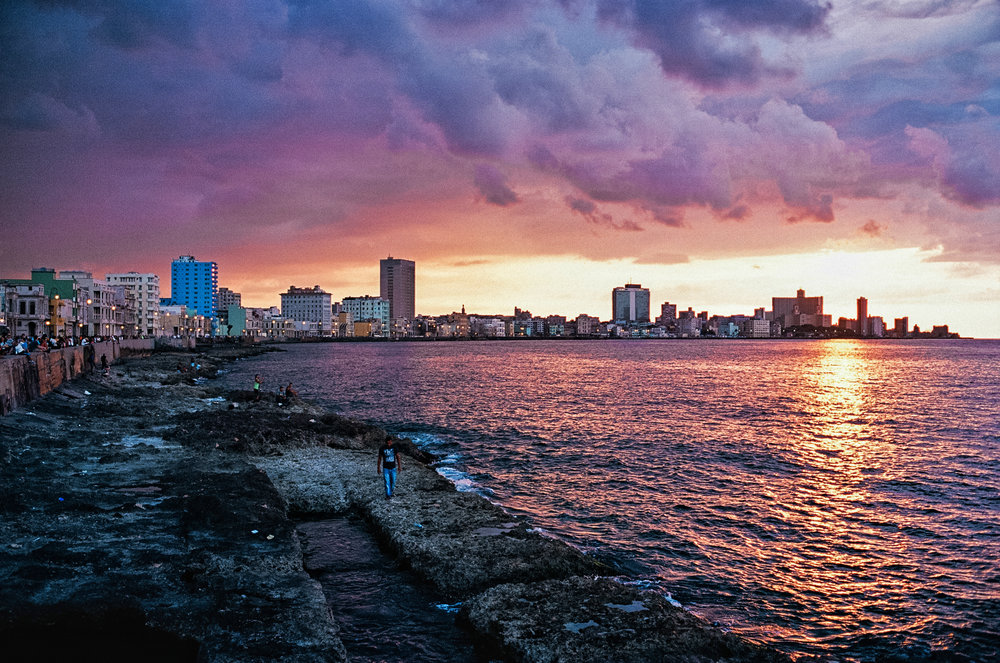 malecon sunset