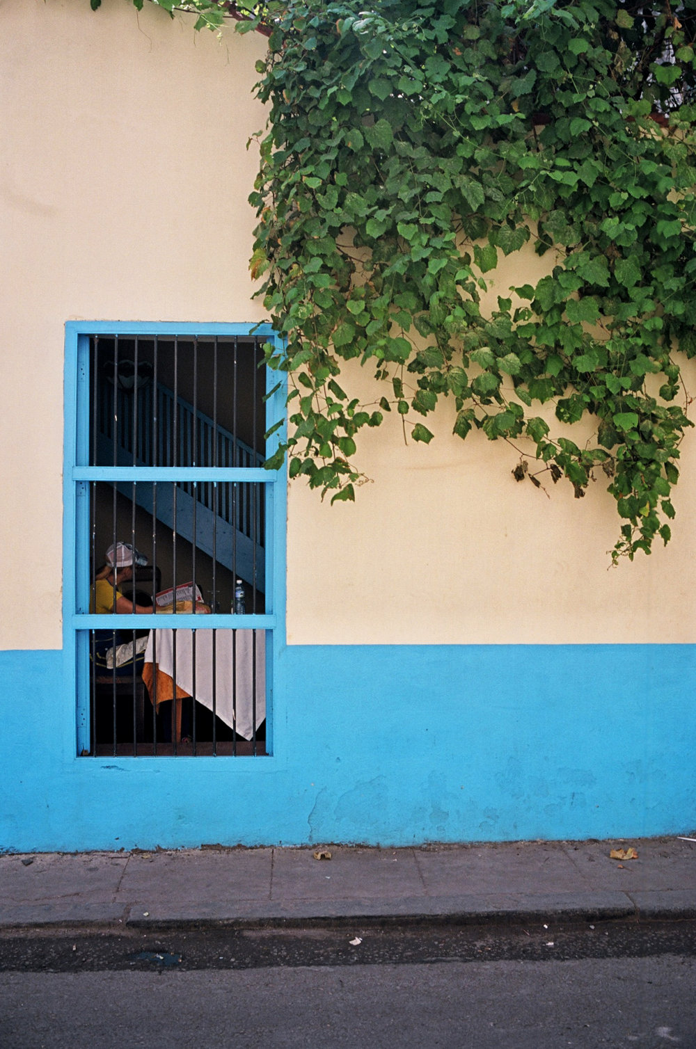 colorful walls of havana