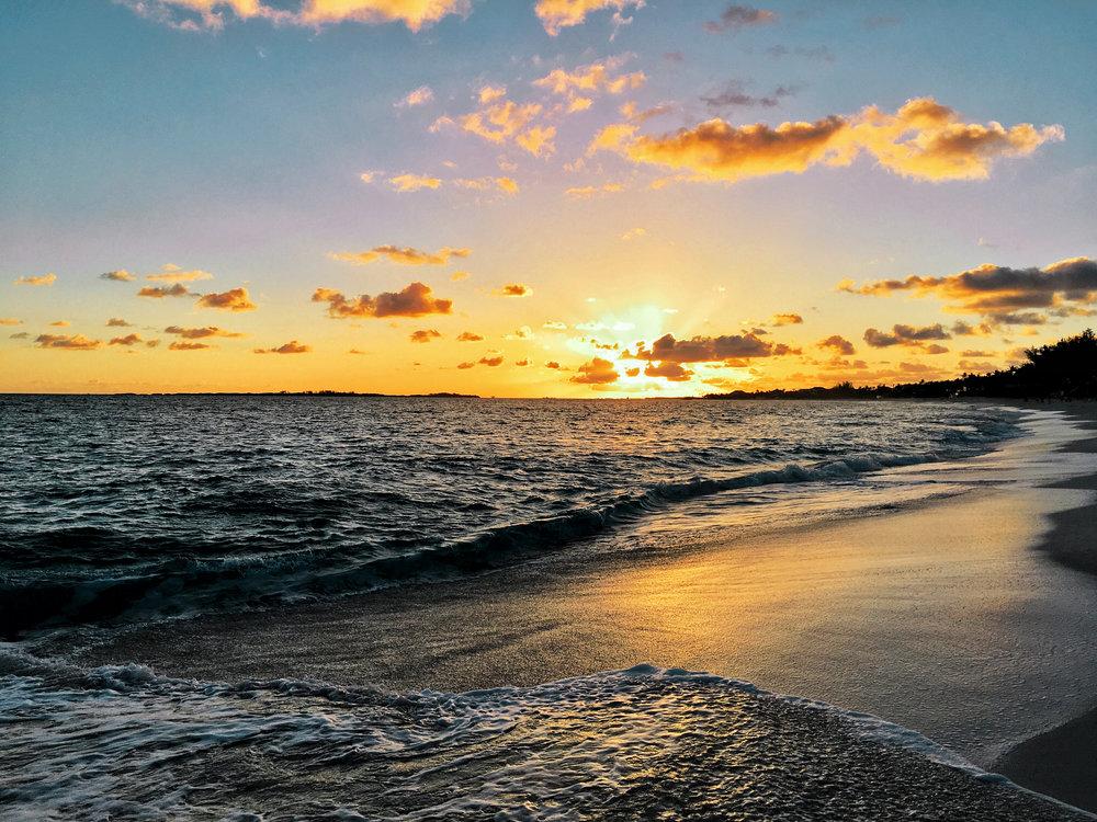 sunrise paradise island