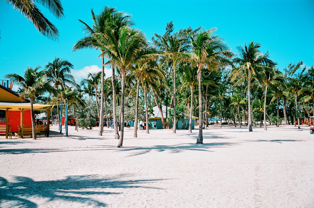 cococay bahamas 35mm film