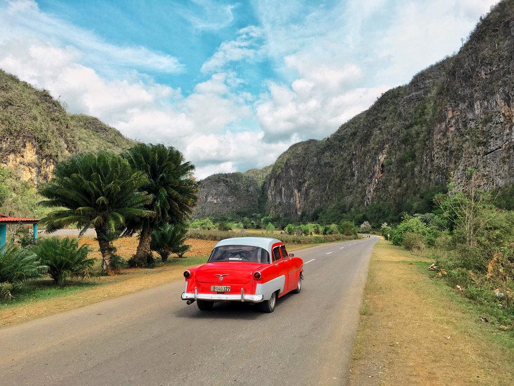 road to vinales