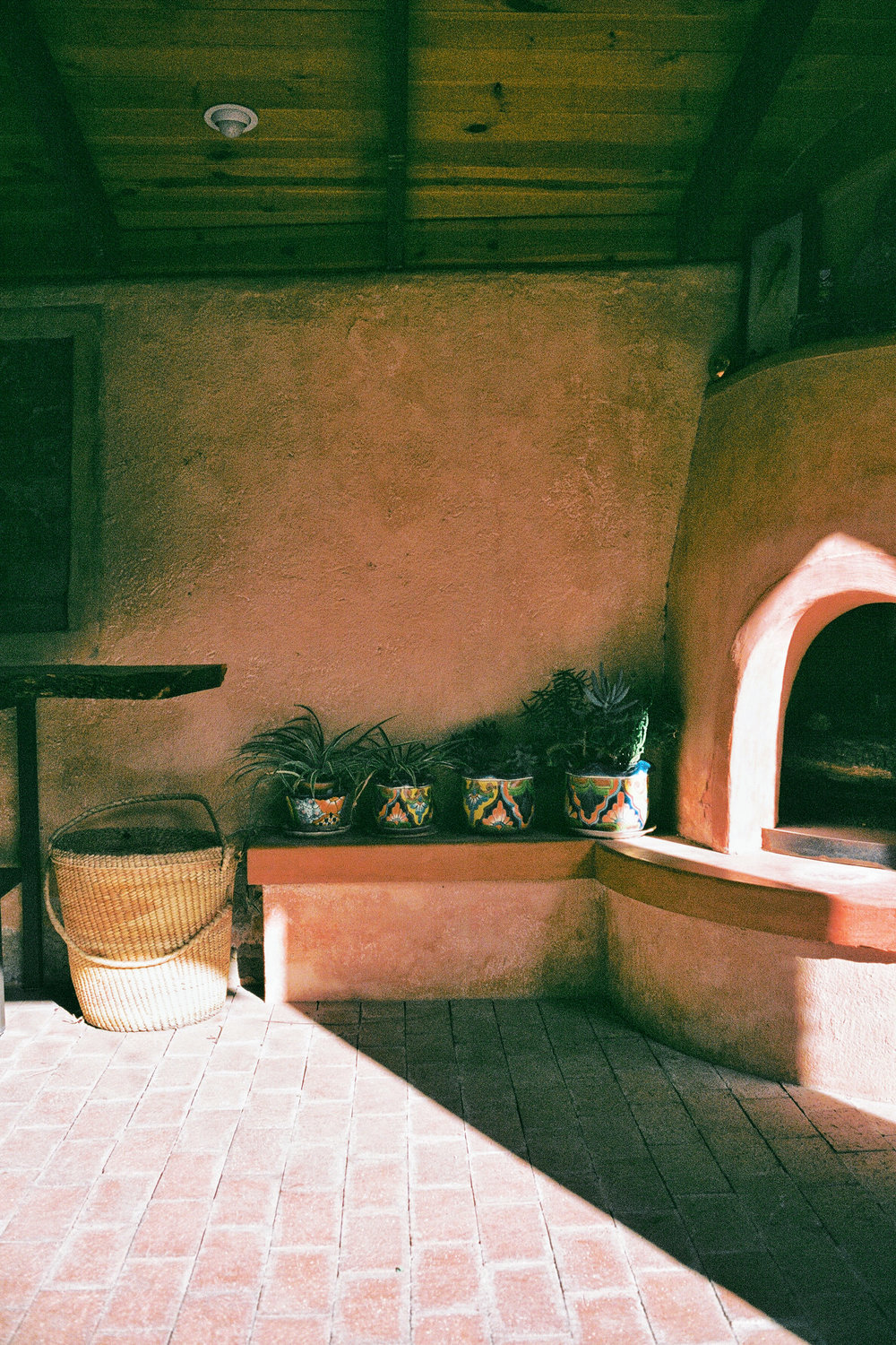 bisbee arizona adobe fireplace