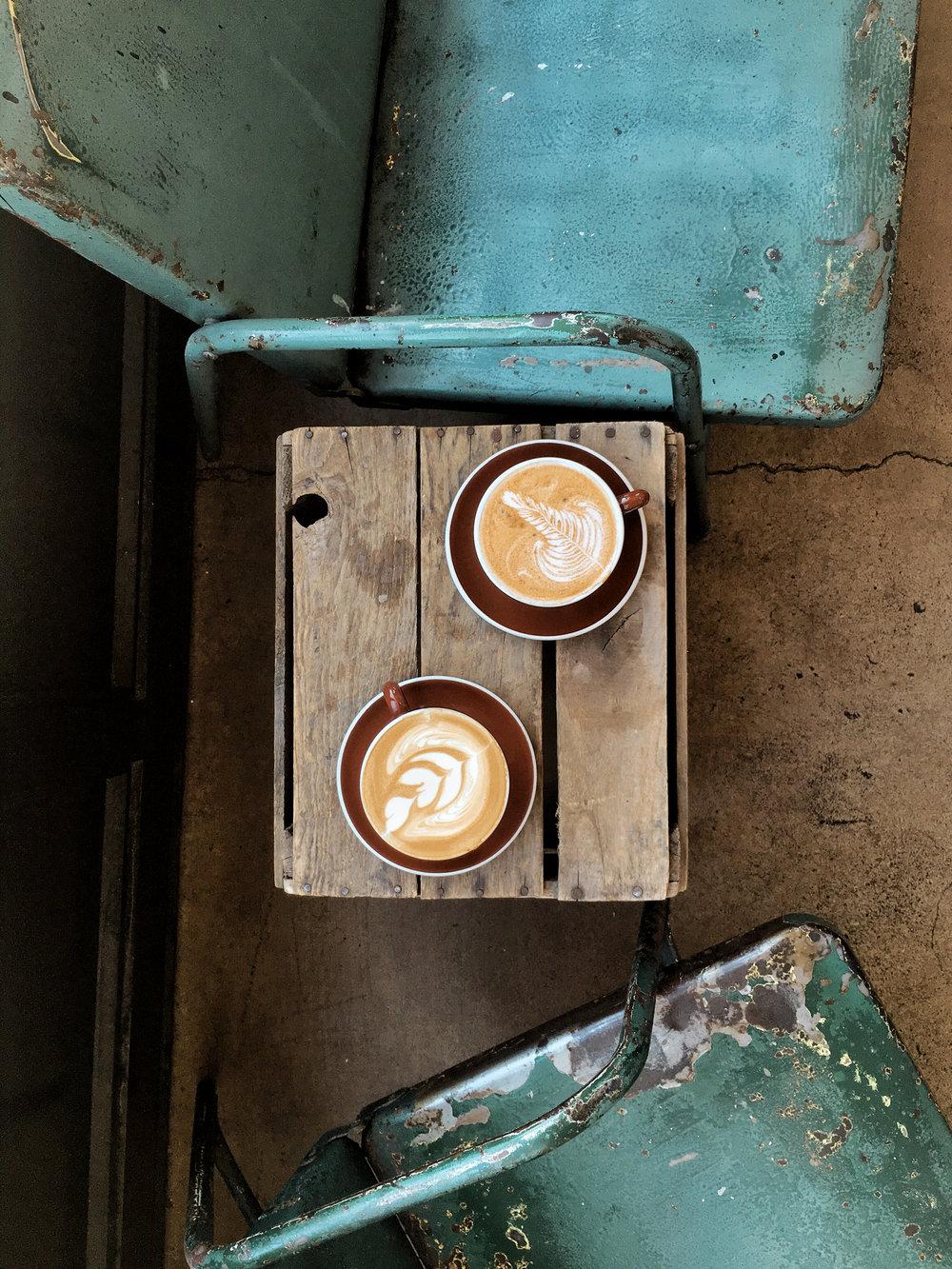 coffee at dolcezza gelato