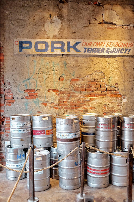 fette sau beer kegs fishtown