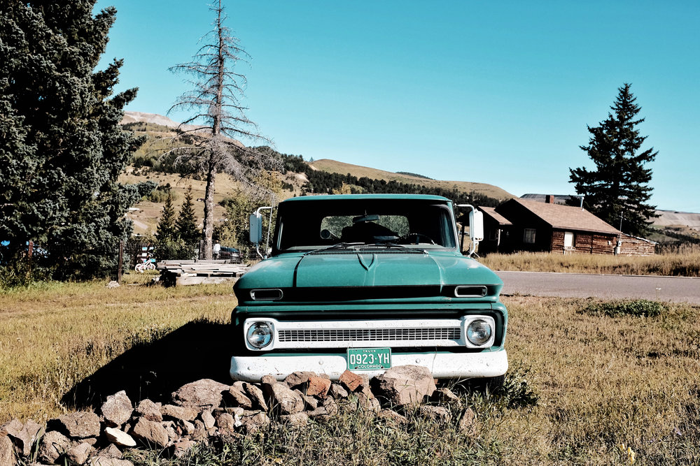 cripple creek colorado vintage car x100t
