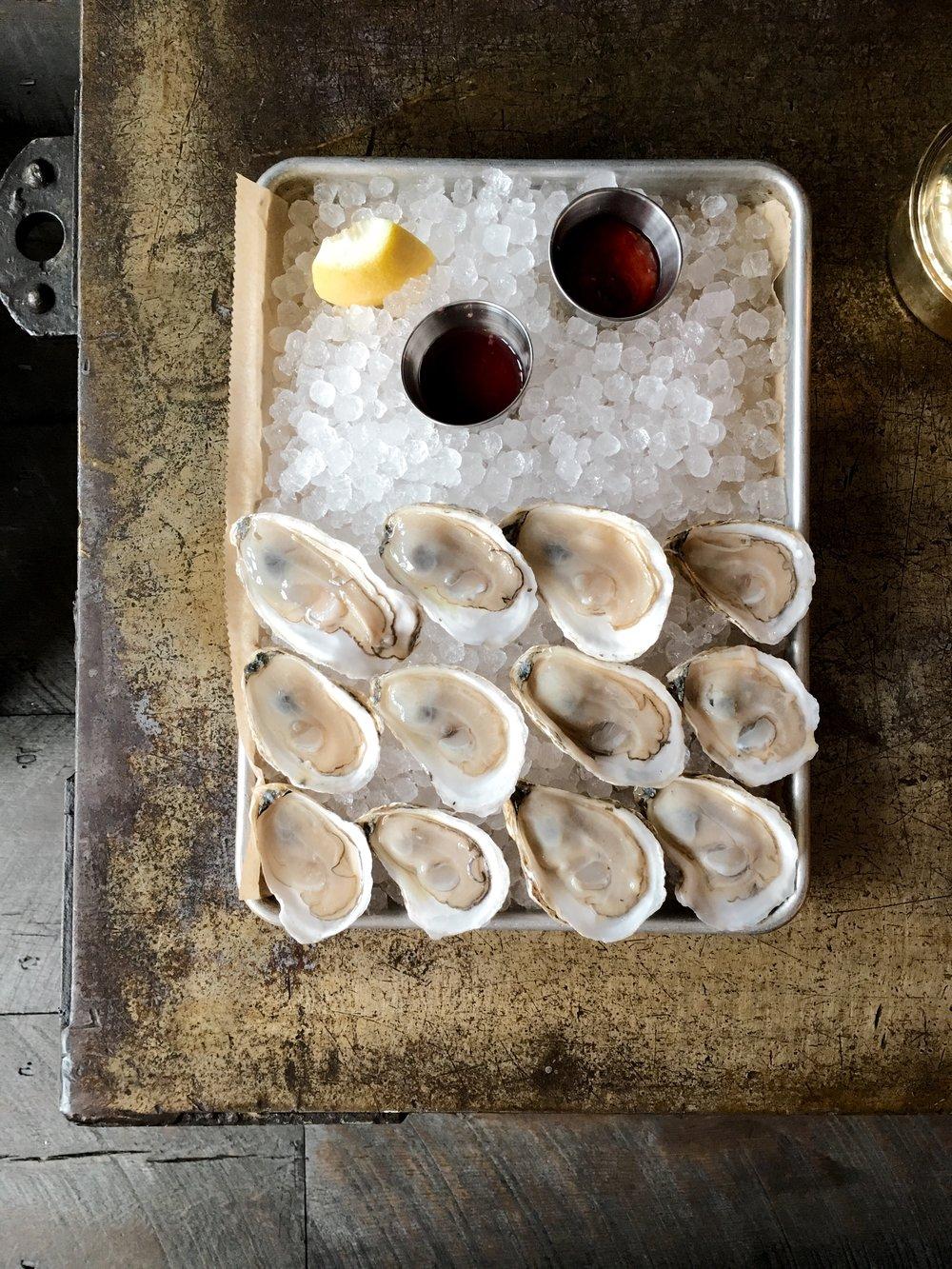oysters hudson ny