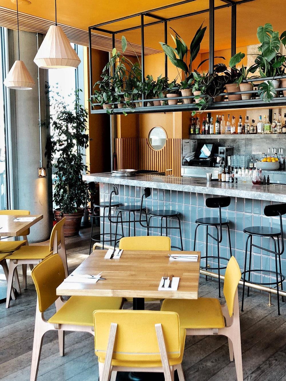 bar decor of treves & hyde