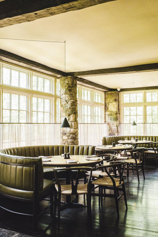 interiors troutbeck restaurant