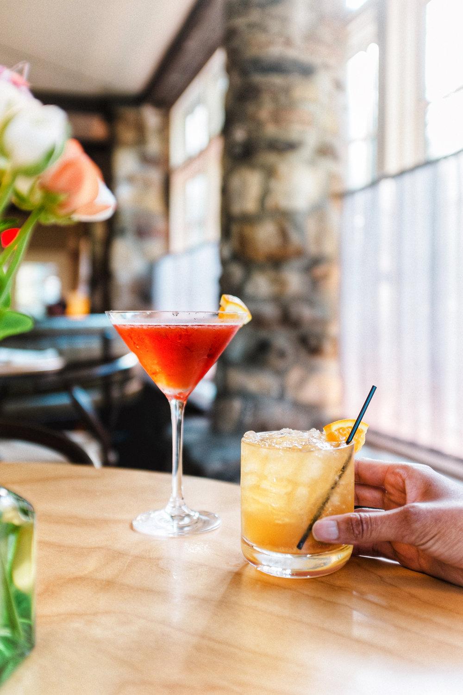 cocktails troutbeck