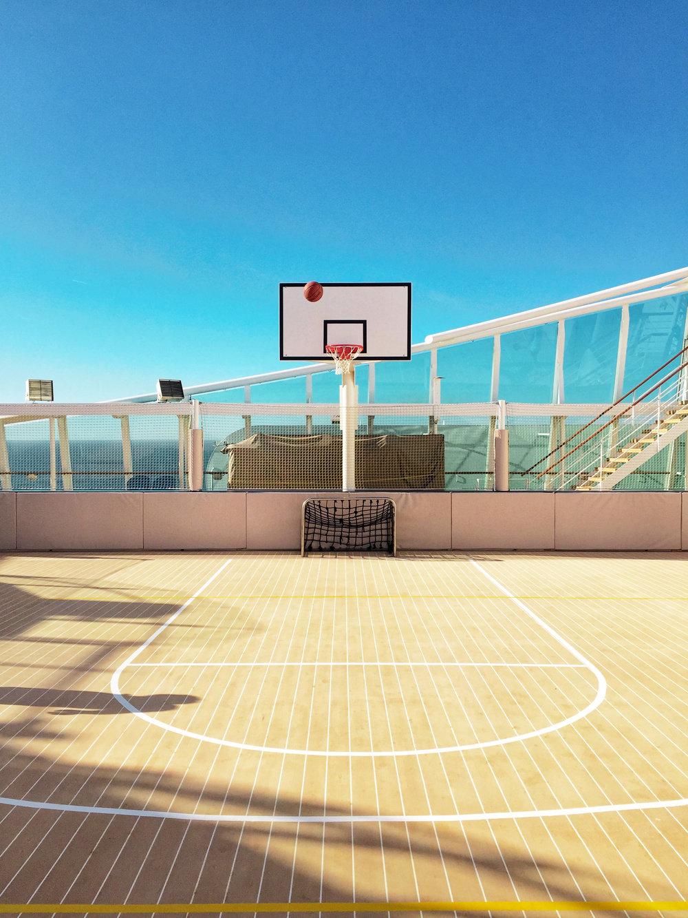 basketball court royal caribbean