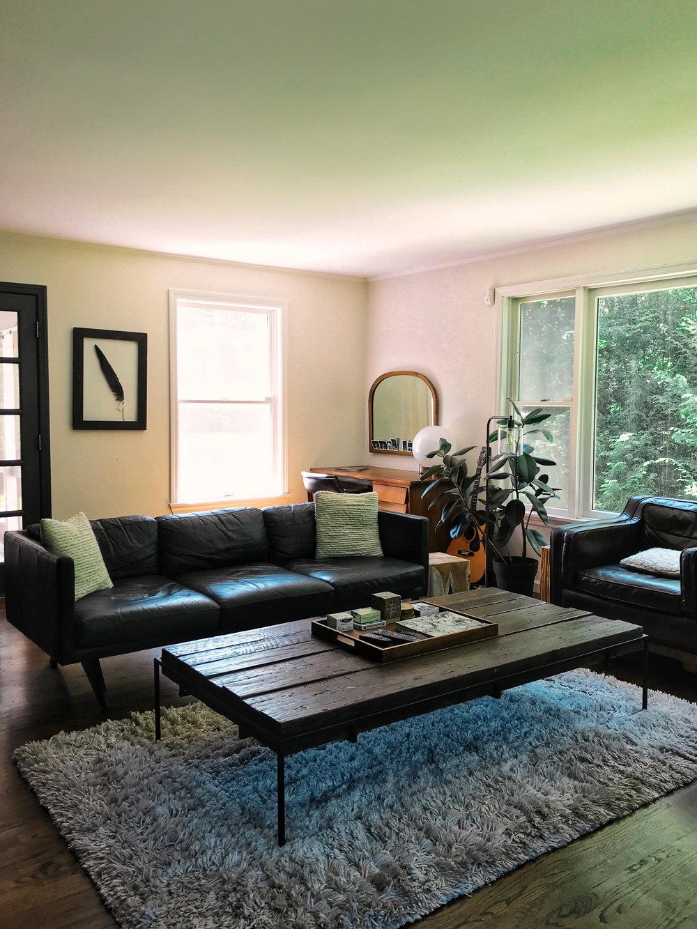 living room the hubert house