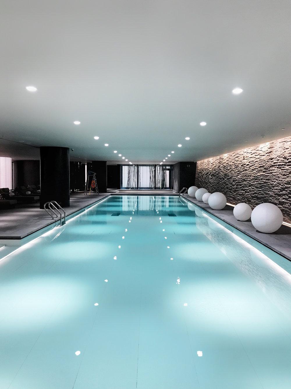 pool at MI XUN spa