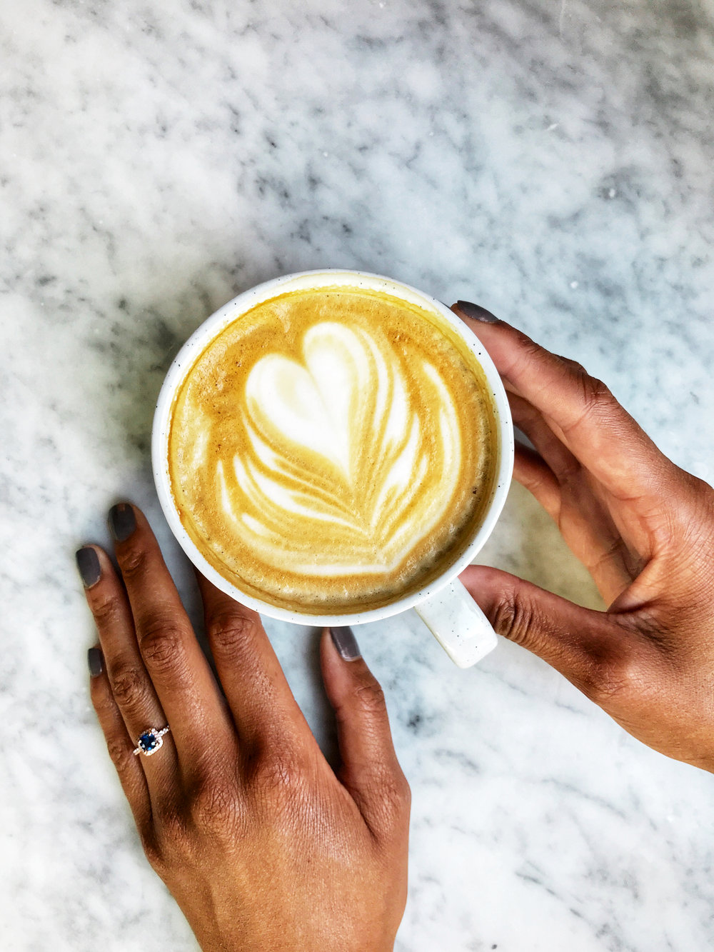 james allen engagement ring coffee