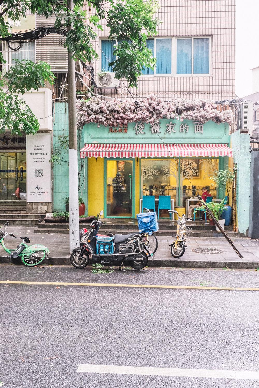 facades of shanghai