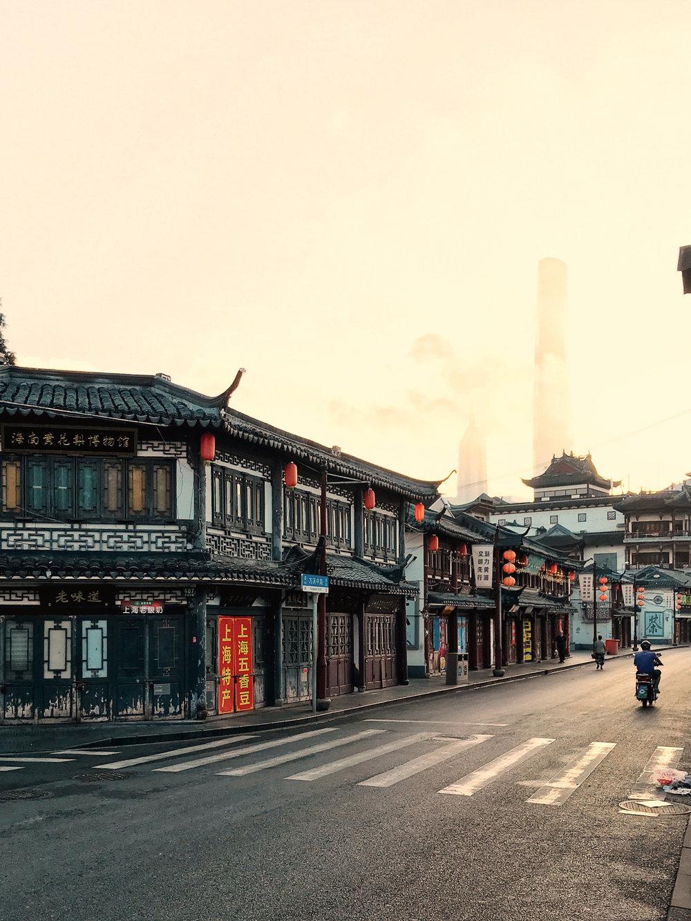 mornings in shanghai