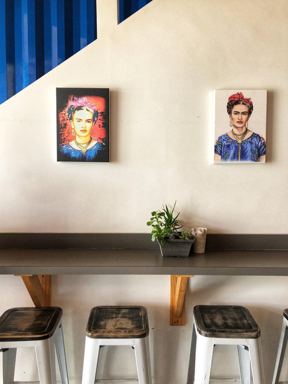 details of casa azul