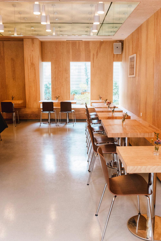 interiors of bar laika