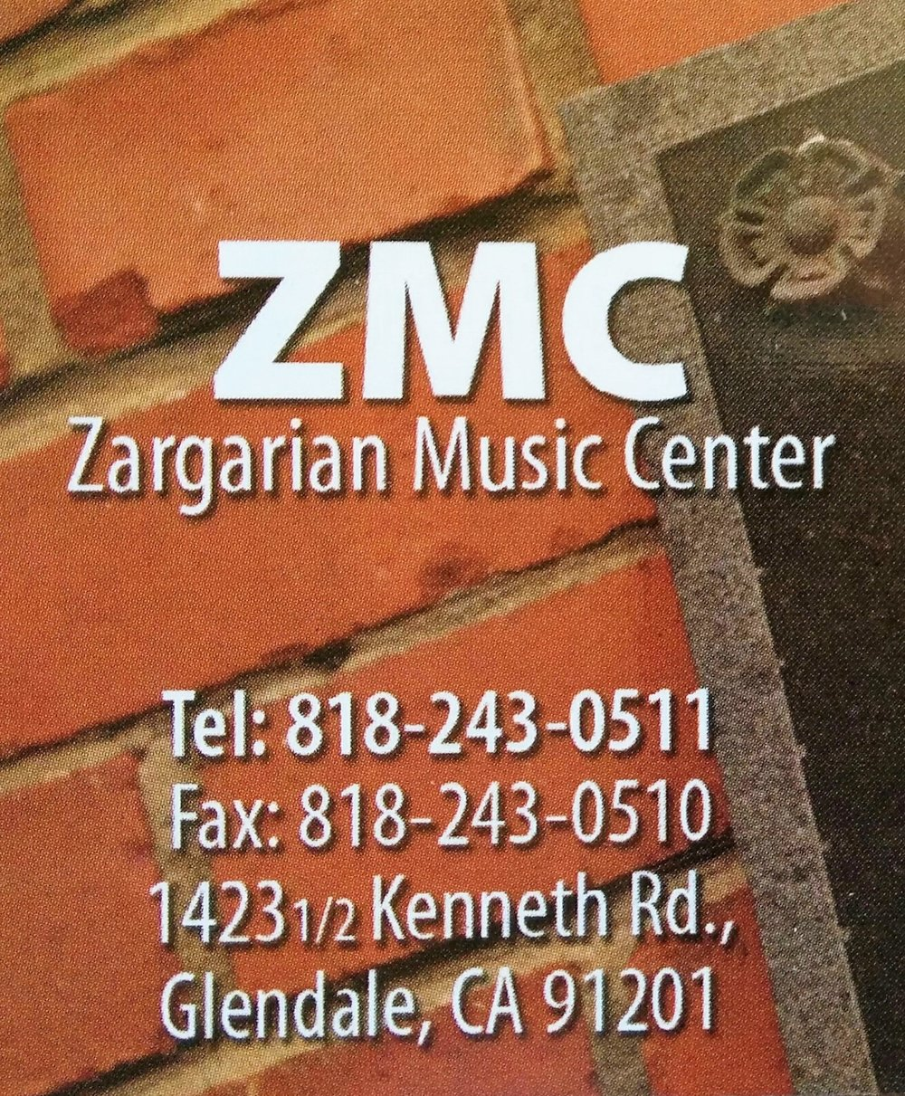 Zargarian Music Center