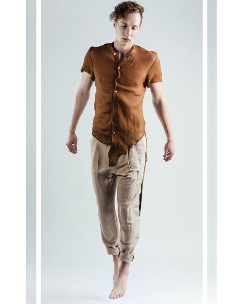Designer: Curtis Oland  Model: Beau Colton
