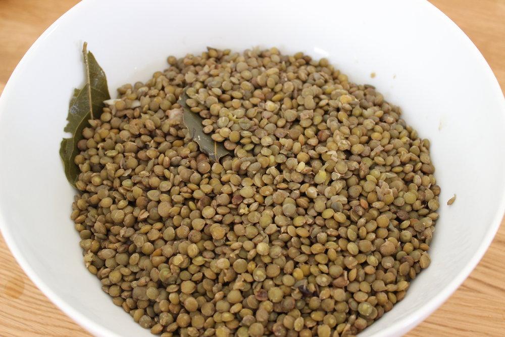 Boiled Lentils
