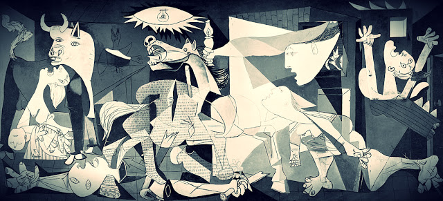 Picasso's Guernica at    M  useo Reina Sofia