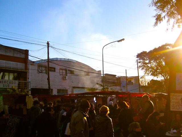 FERIA DE MATADEROS AT SUNSET
