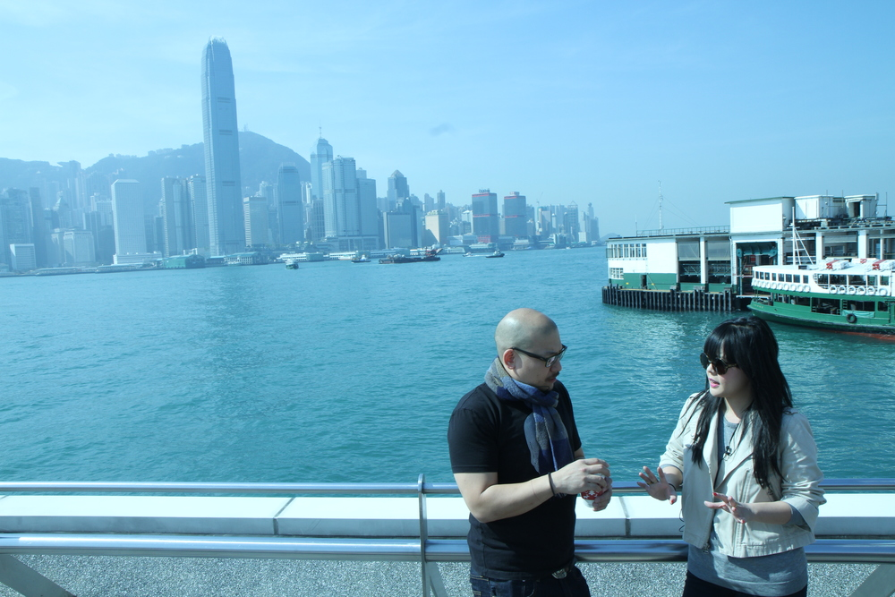 SIMON YIN AT VICTORIA HARBOUR