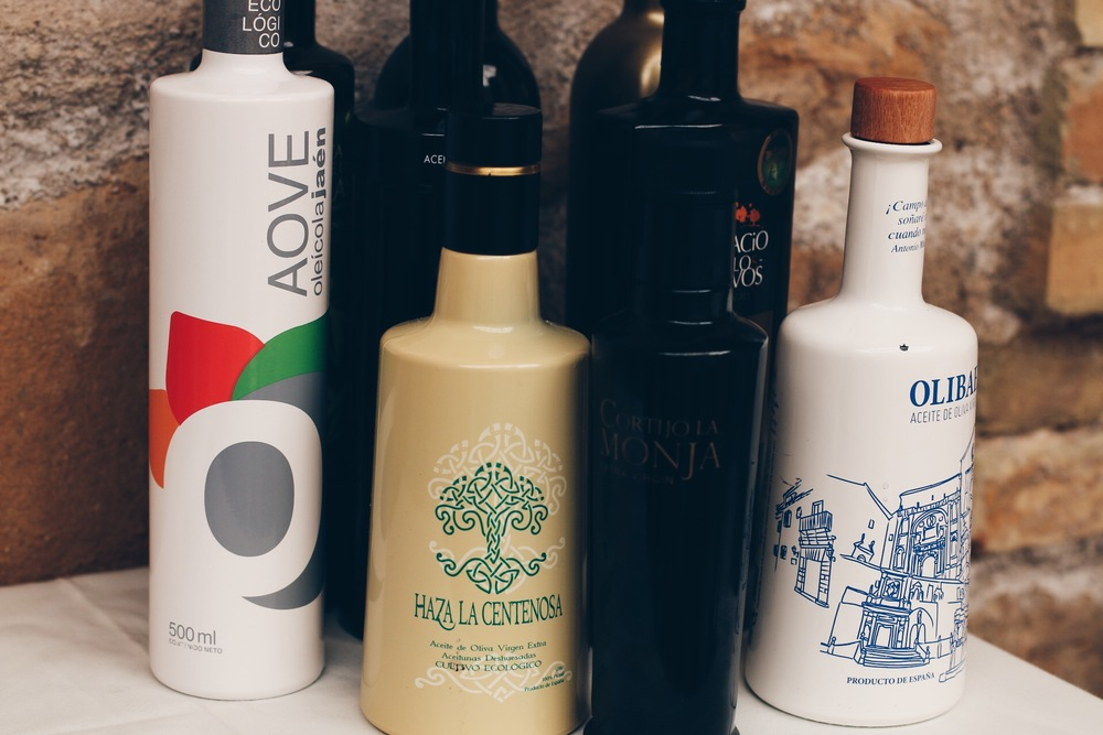 AS ALWAYS, A SELECTION OF THE BEST LOCAL OLIVE OILS