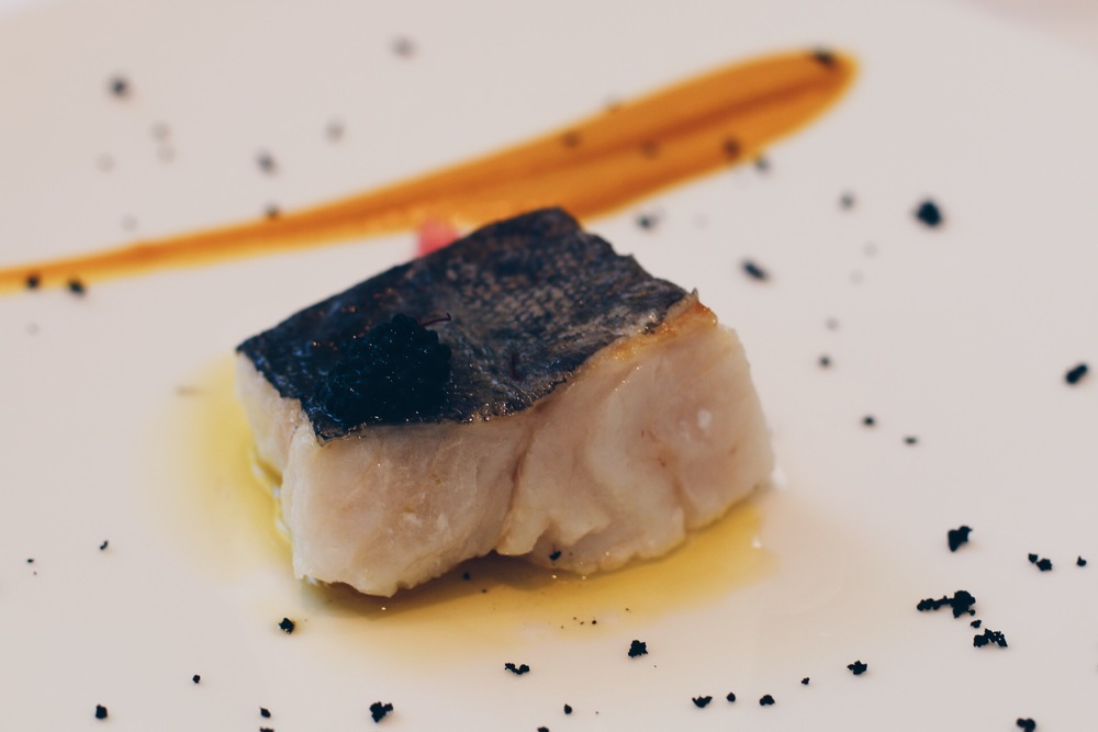 BACALAO WITH CAVIAR