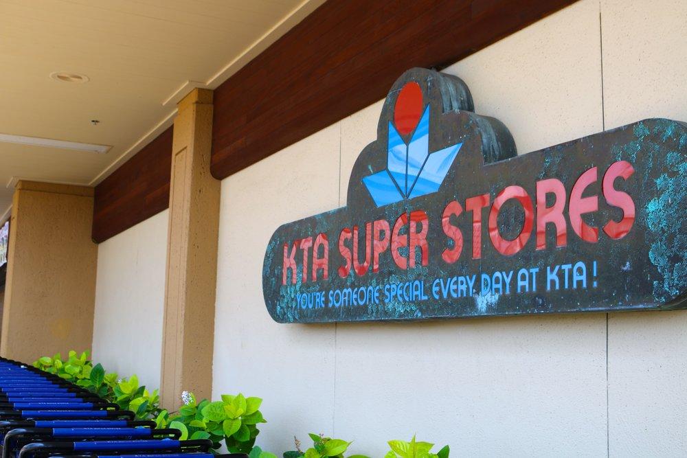 KTA SUPER STORES !