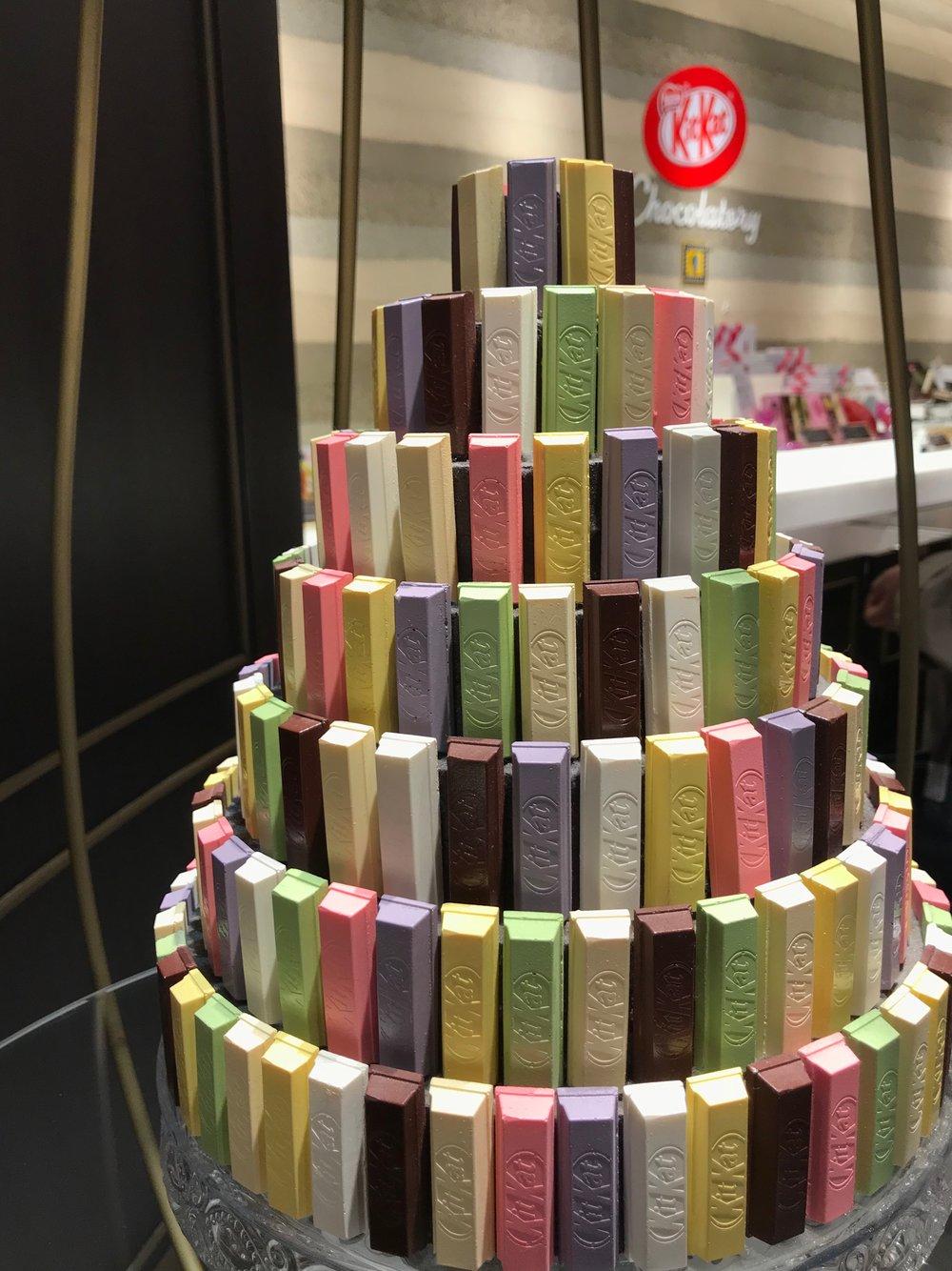 Kit Kat Chocolatory  in Ginza