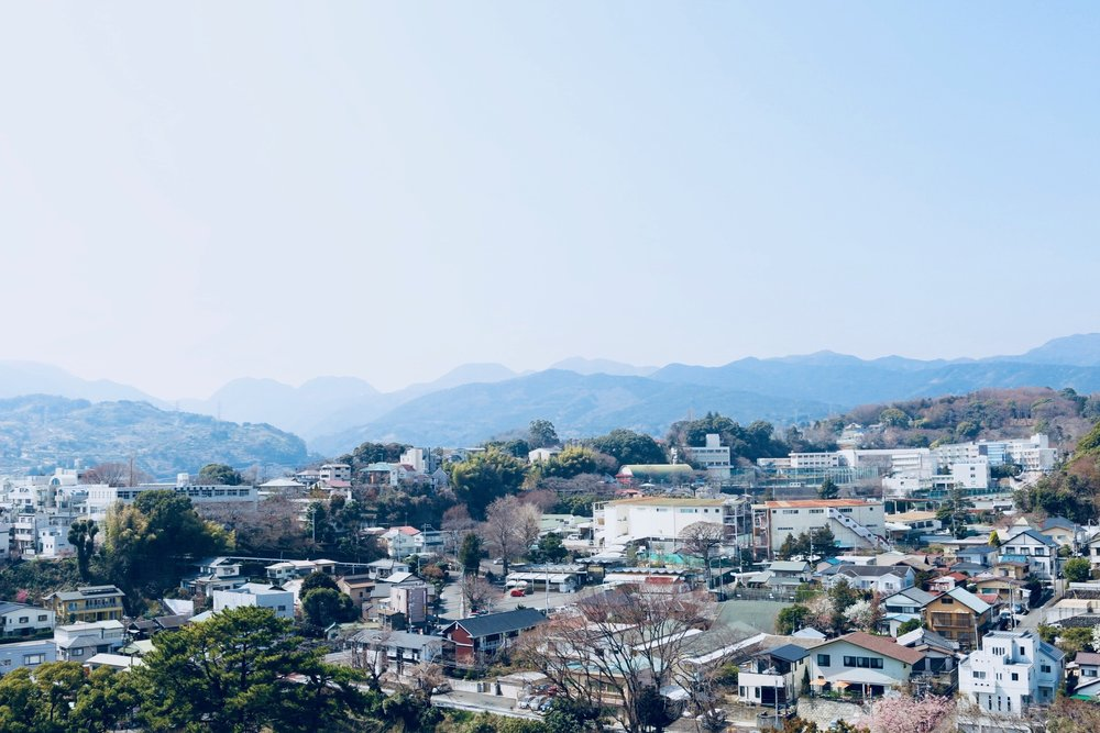 Views from the top of the Odawara Castle