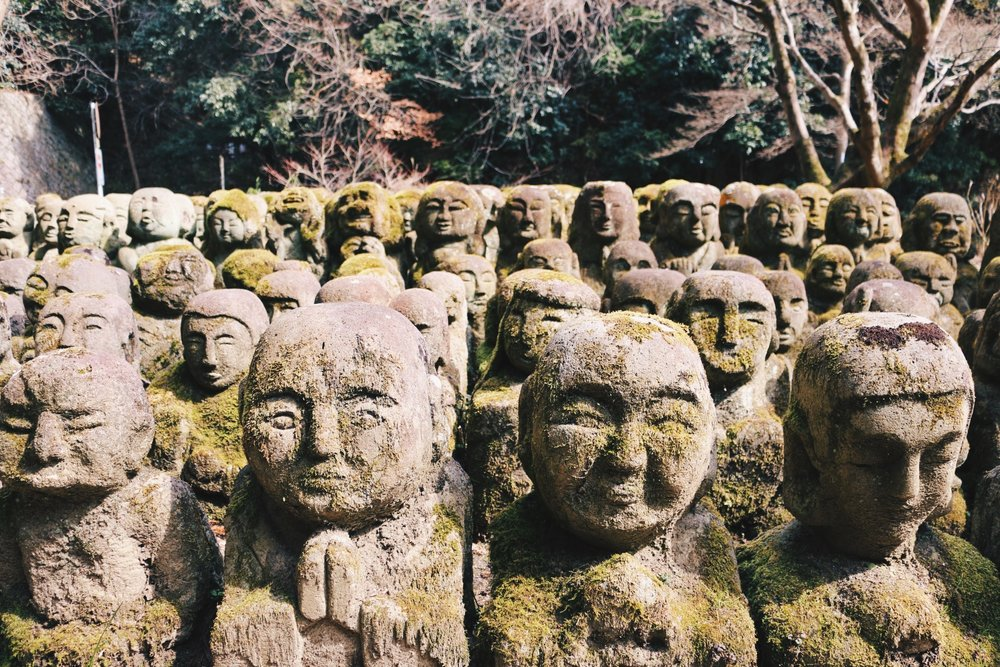 "Otagi Nenbutsu-ji's 12000 buddhas AKA ""The Happiest Place on Earth"""