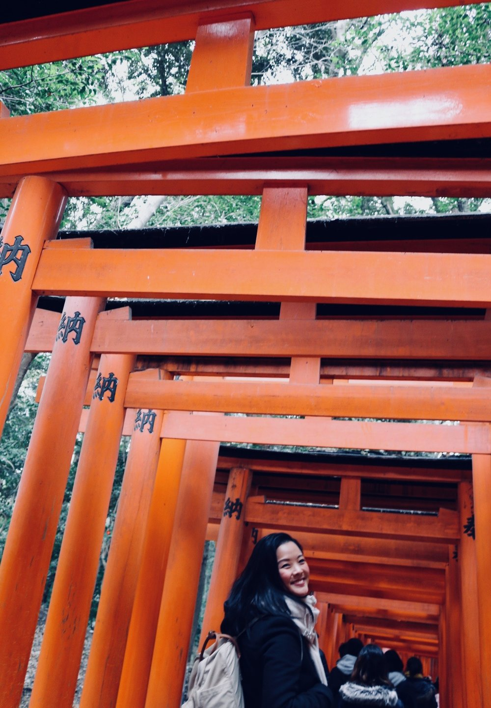 Obligatory Fushimi Inari tourist pic