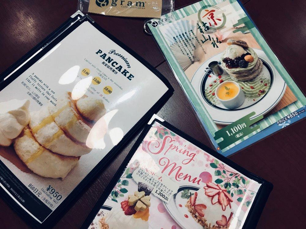Gram Cafe  for breakfast