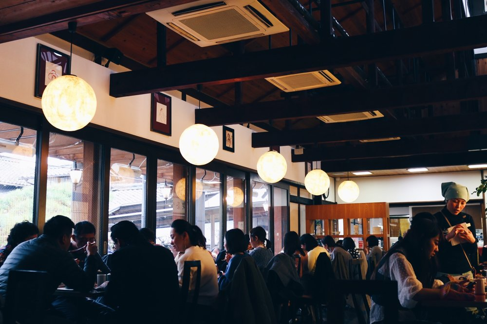 Nakamura Tōkichi Honten  in Uji (the birthplace of matcha/green tea)