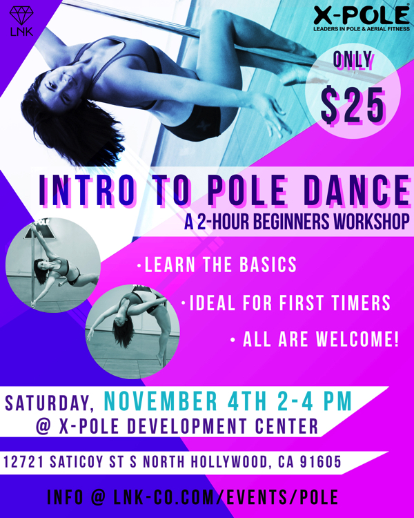 Intro to Pole Dance