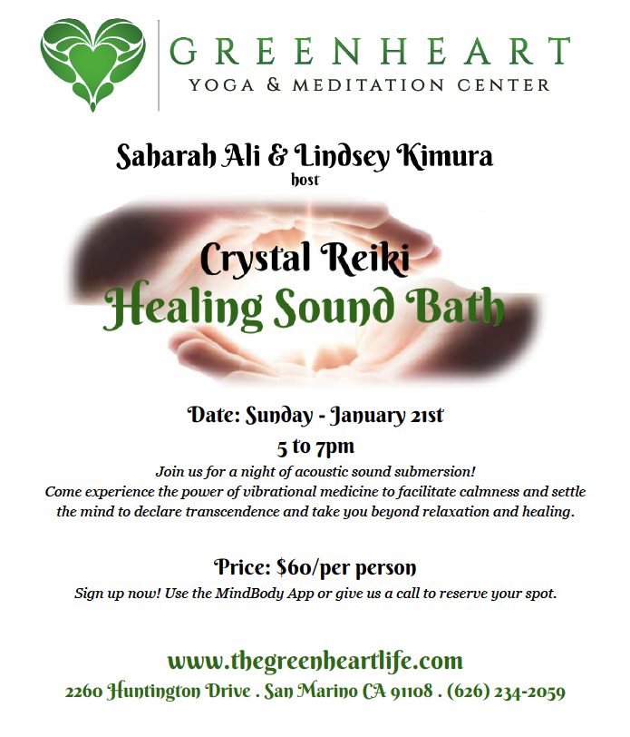 Crystal Reiki Healing Sound Bath