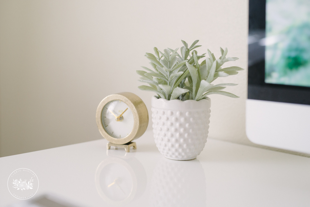 Target clock and plant
