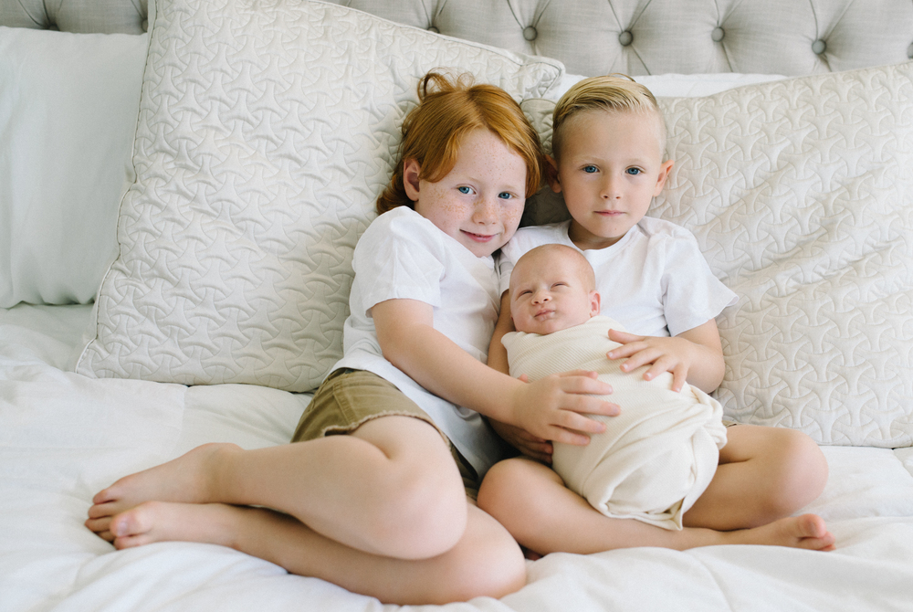 Lifestyle newborn photography temecula
